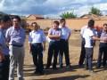 喀喇沁旗政府领导到淇艺试验基地视察指导