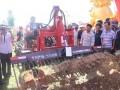 赤峰恒昊挖药机展示