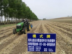 秸秆全量覆盖还田玉米精量免耕播种技术试验示范工作在吉林有序推进