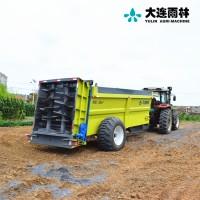 工厂直销大型粪肥抛洒机 有机肥撒肥机 湿鸡粪扬粪车
