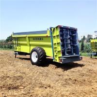 大连雨林工厂直销大型有机肥撒肥机 农家肥撒粪车 粪肥抛撒车